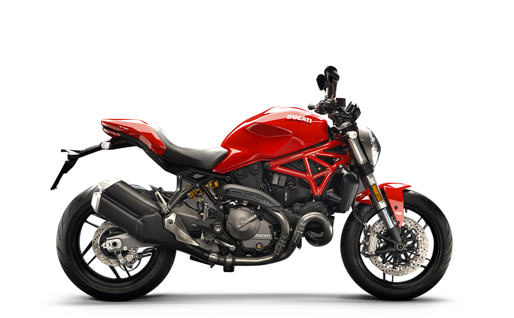 Ducati Monster 821 rouge MY18 35 kW