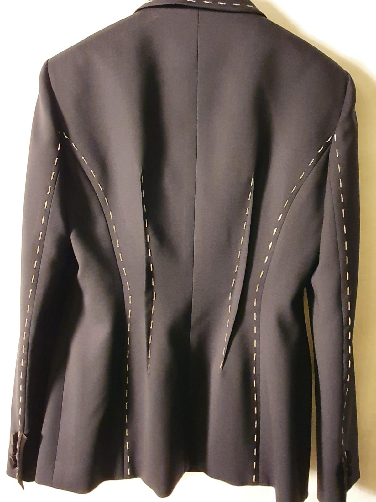 Versace - Jacket with silver stiching