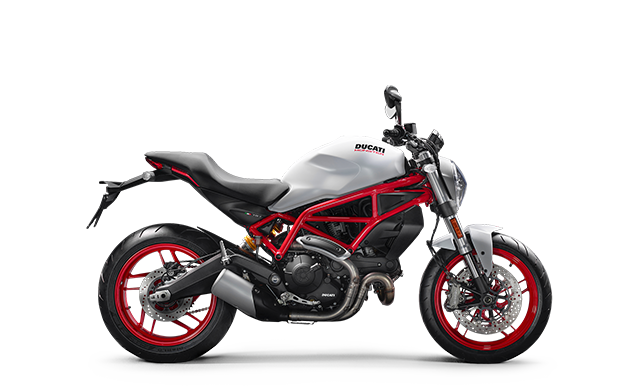 Ducati Monster 797 blanche MY18 35 kW