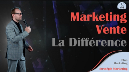 Différence entre le Marketing et la Vente
