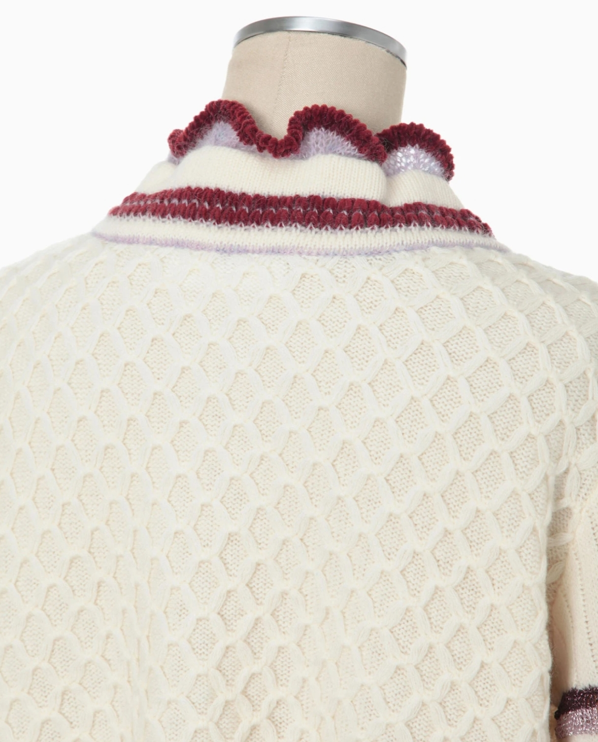 DONNA Les Boutiques - Lace Knitted Cardigan