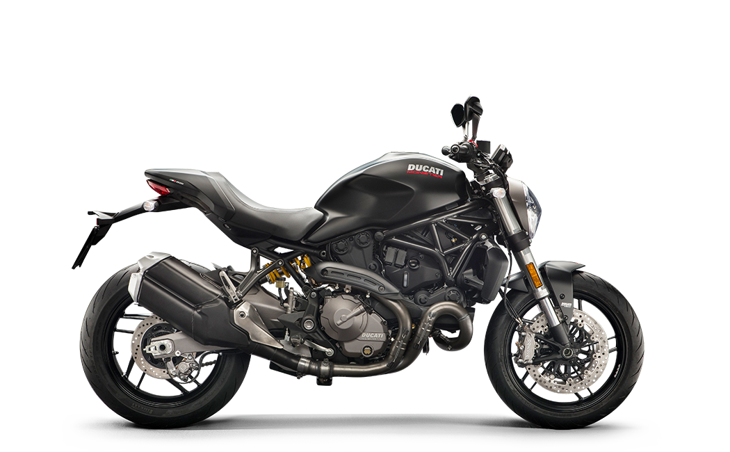 Ducati Monster 821 noire MY18 35 kW