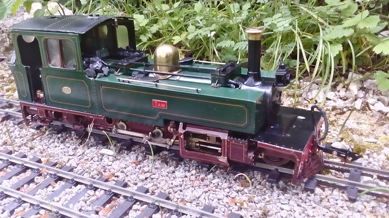 "Lynton and Barnstaple Railway 2-6-2 ""Taw"""