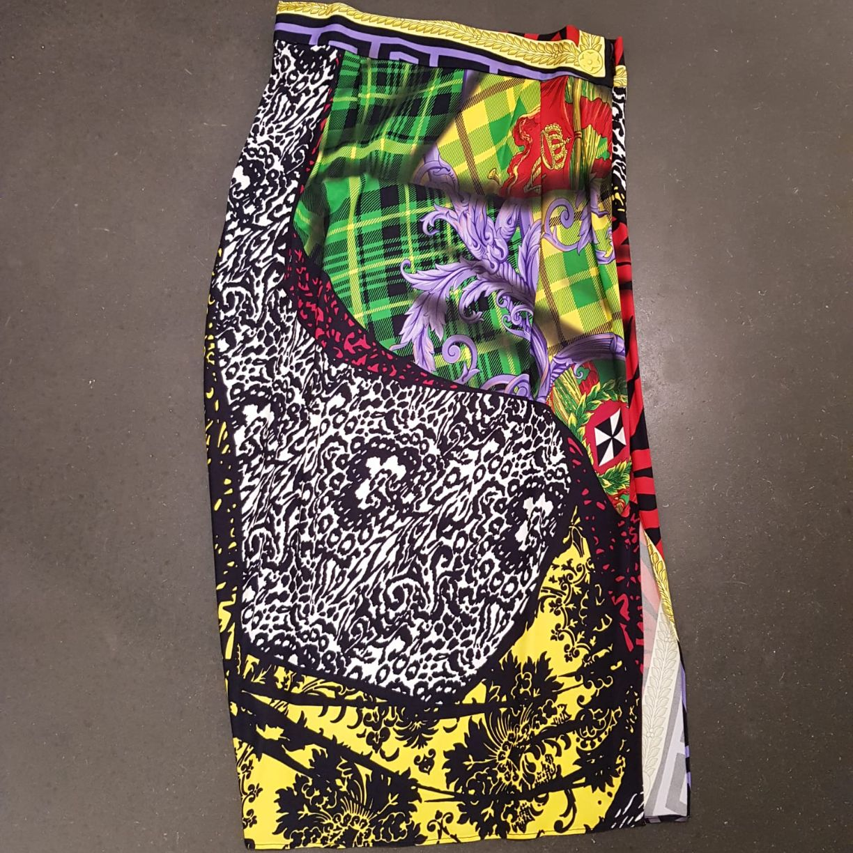 Versace - Skirt multicolour jersey