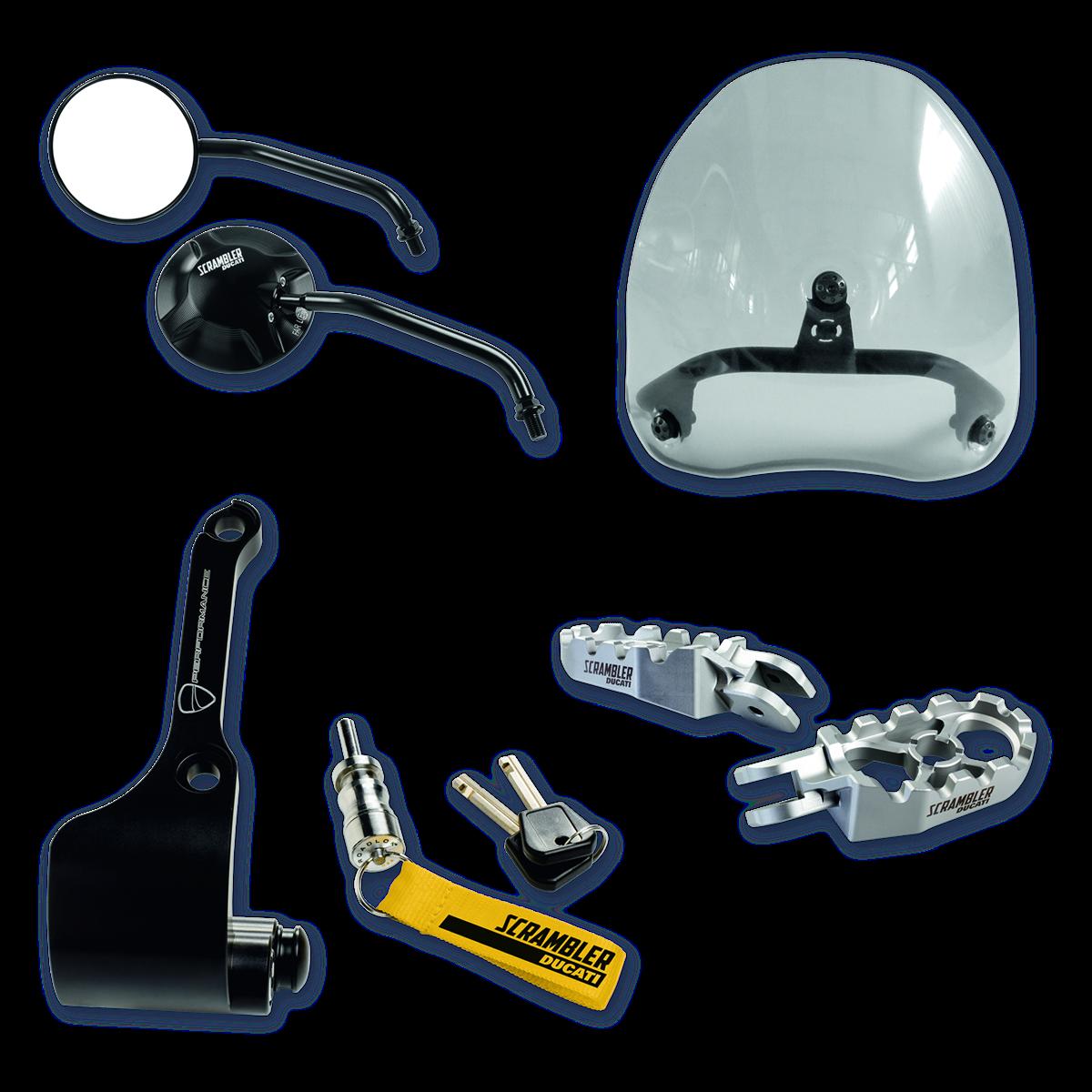 kit accessoires city 97980521a. Black Bedroom Furniture Sets. Home Design Ideas