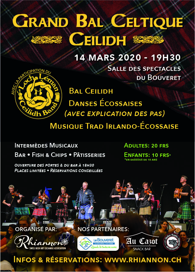 14.03.2020 - Grand Bal Celtique - Ceilidh au Bouveret