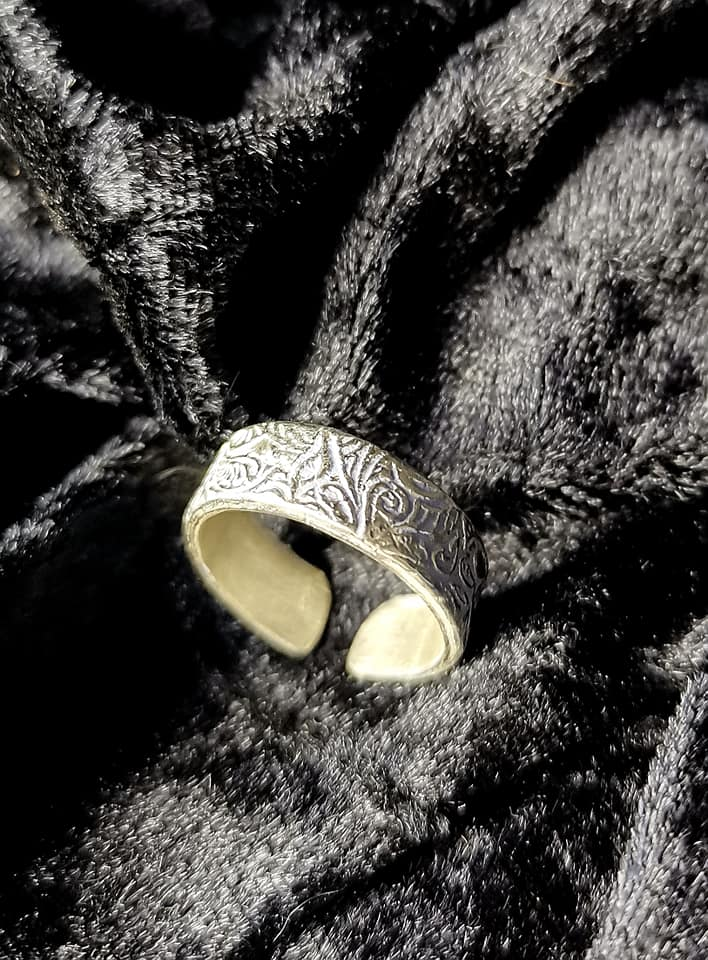 "Silber-Ring ""Loreley"""