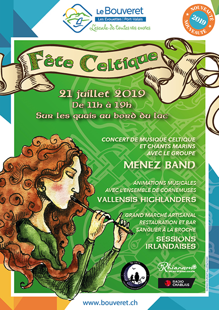 21.07.2019 - Fête Celtique au Bouveret