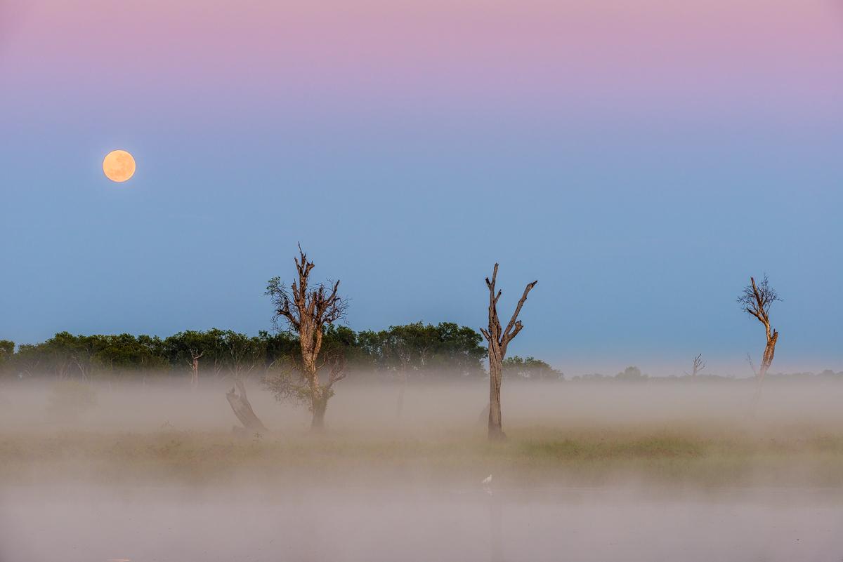 Full Moon- Vollmond-Kakadu National Park-Australiajpg