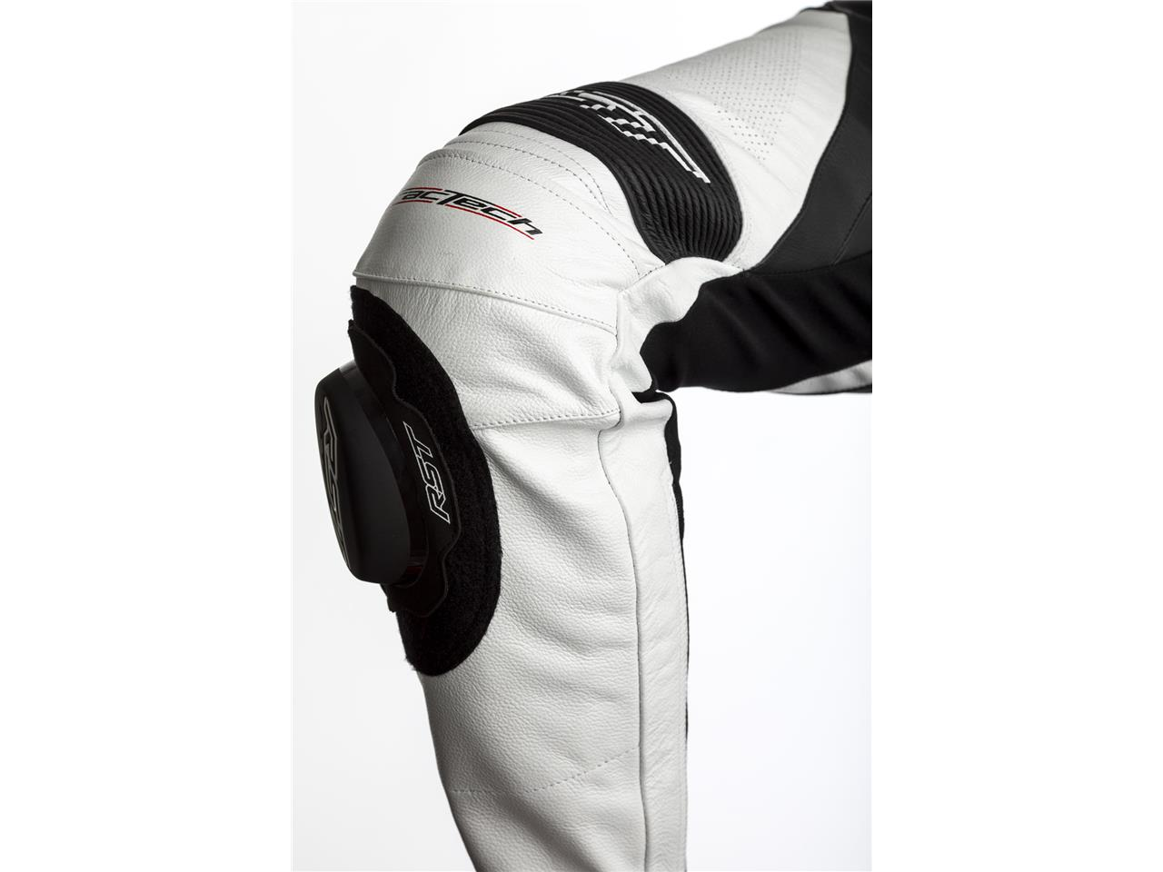 Combinaison RST Tractech EVO 4 CE cuir blanc