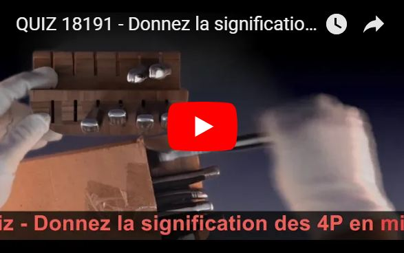 QUIZ 18191 Donnez la signification des 4P en marketing mix ?