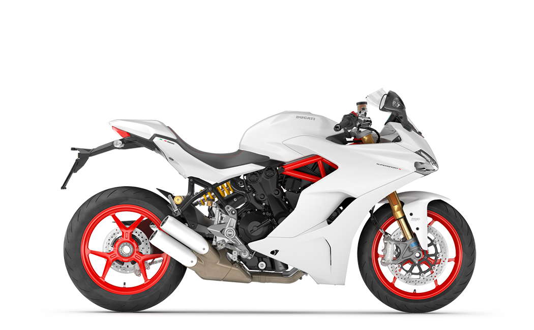 Ducati Supersport S blanche MY18 35 kW
