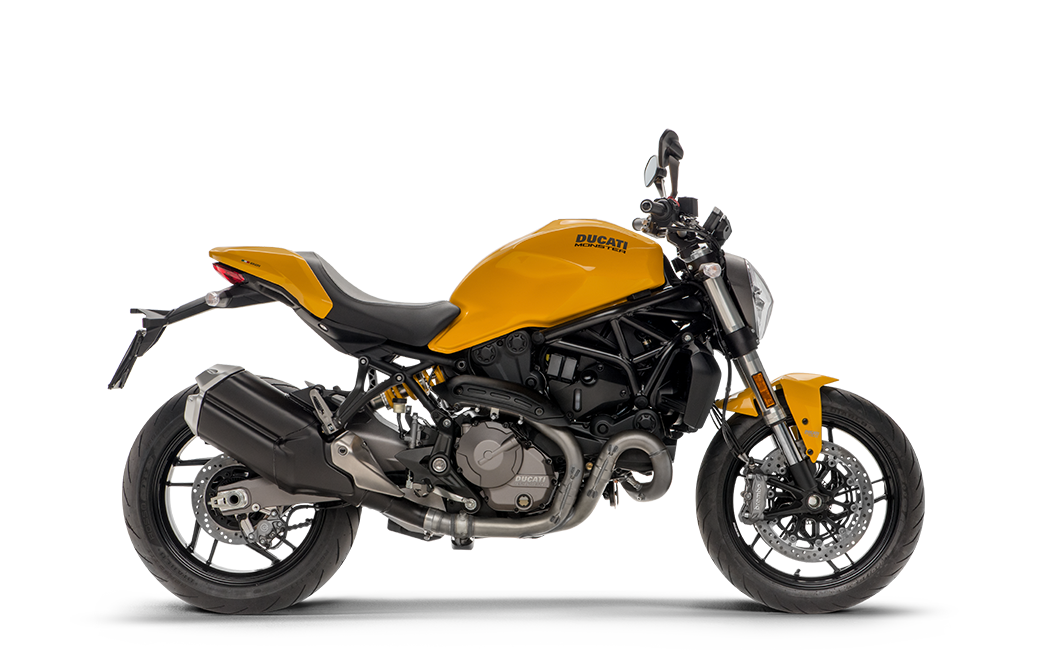 Ducati Monster 821 jaune MY18 35 kW