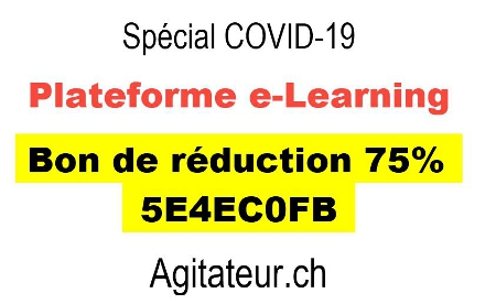 e-learning codiv-19 Plateforme de formations