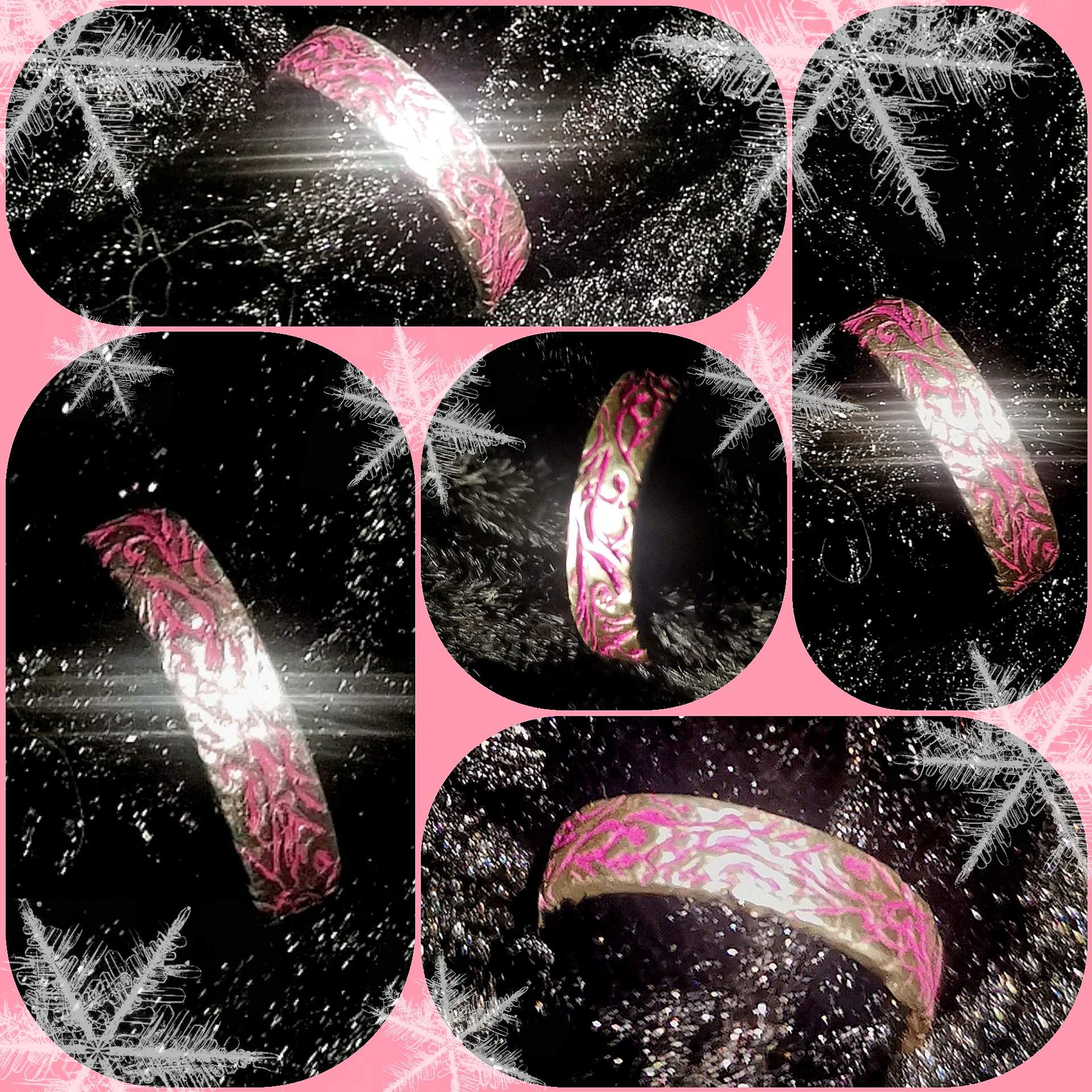 "Silber - Ring ""Pink Loreley"""