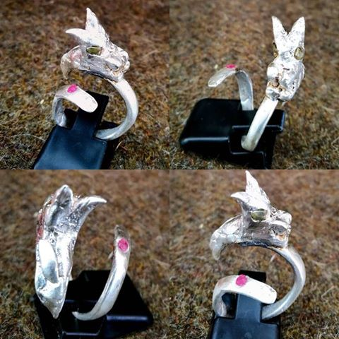 "Silber-Ring ""Little Dragon"""