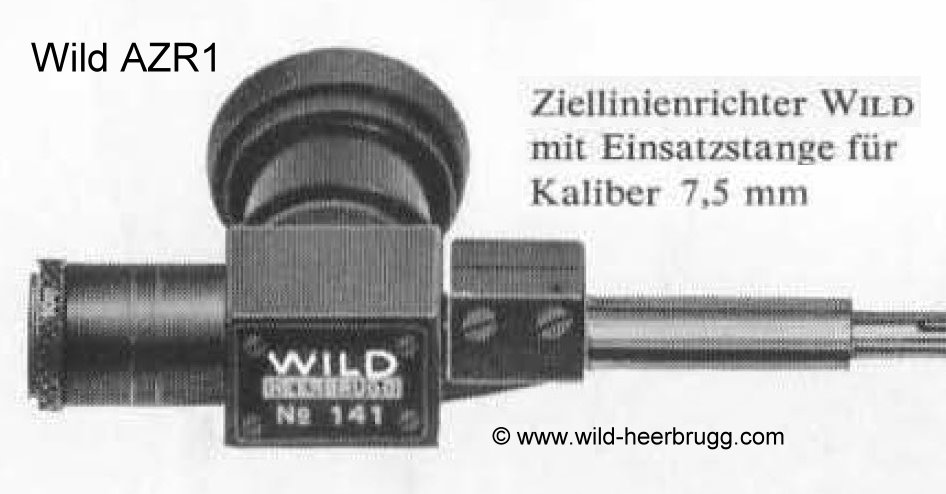 Ziellinienrichter - Boresight