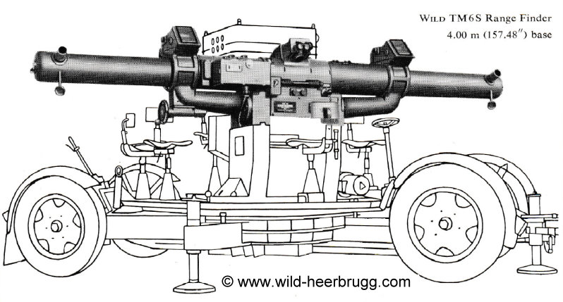 Wild TM6S Range Finder 400cm base (1953)